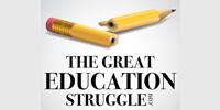 The Great Education Struggle Logo