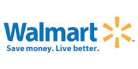 Walmart Logo - White